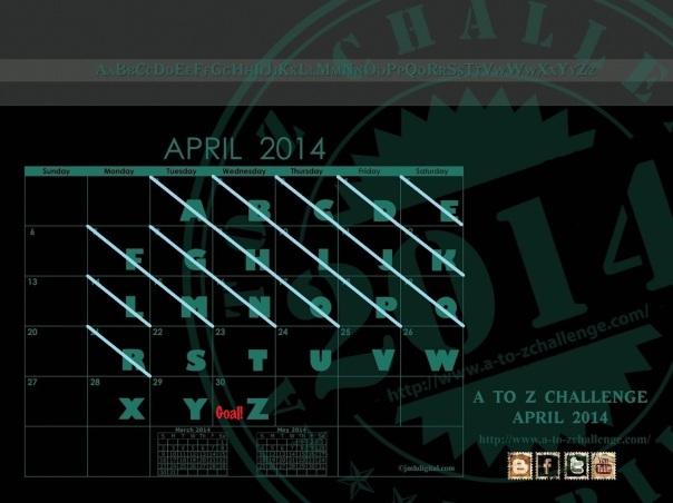 APRIL-CALENDAR [2014] - updated